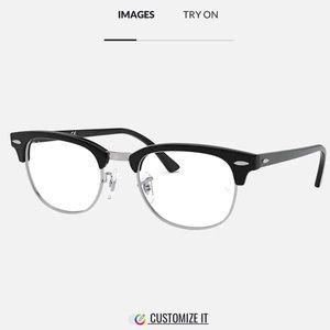 Rayban Club Master Prescription Glasses